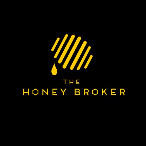 simple logo for Honey label