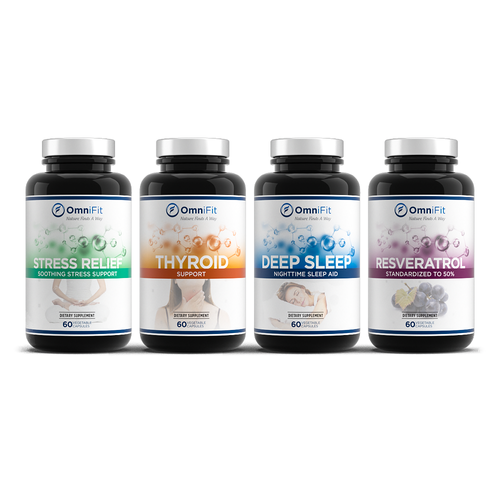 Packaging Design for Natural Supplement