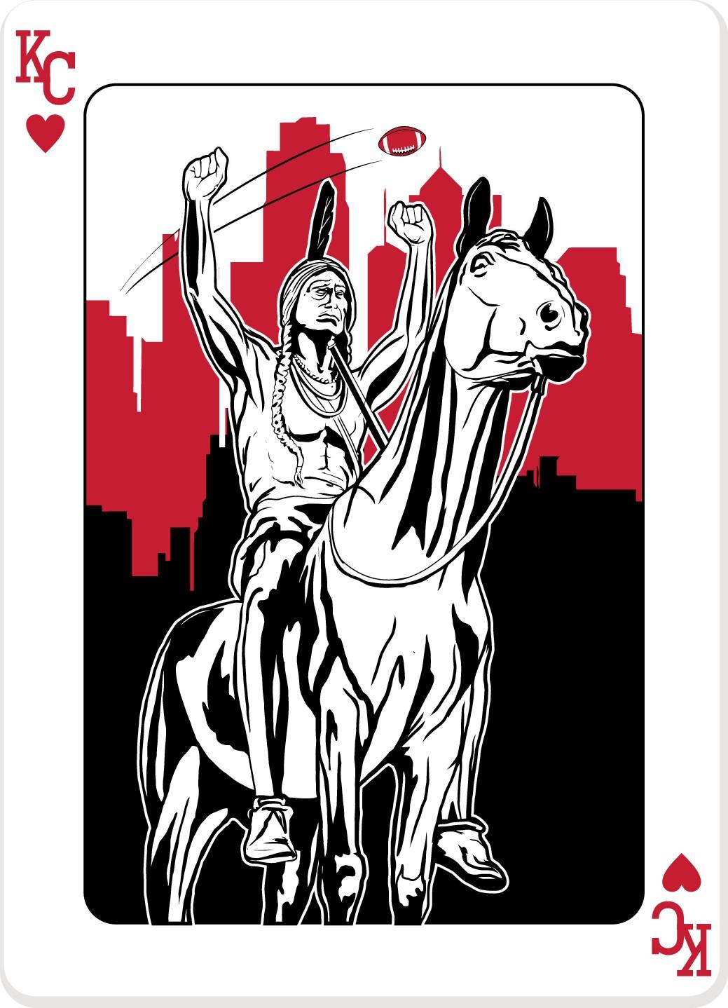 KC Queen of hearts