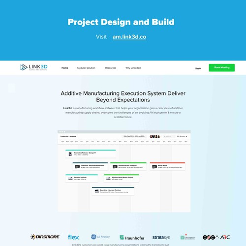 Link3D Web Project Design and Build