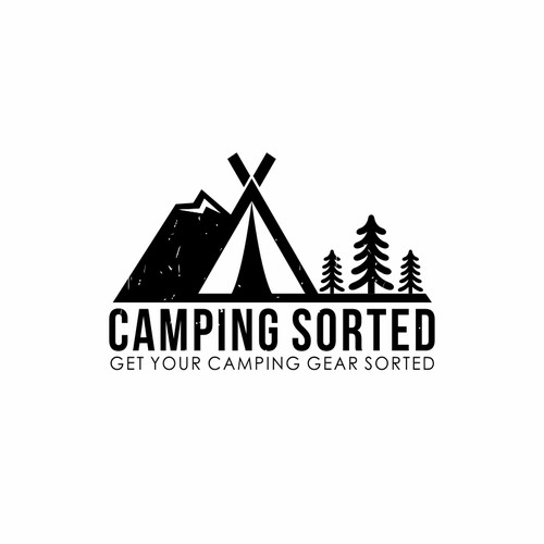 Logo design Camping Sorted