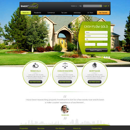 Professional sharp looking website with lead capture that works