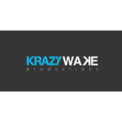 KRAZYWAKE PRODUCTIONS: LOGO + OPPORTUNITY FOR FUTURE DESIGN WORK