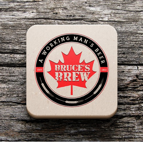 Logo design for a Canadian craft beer company
