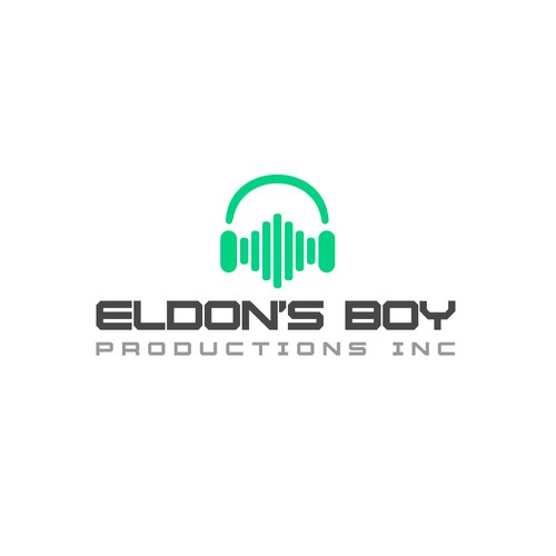 Logo voor audio producer