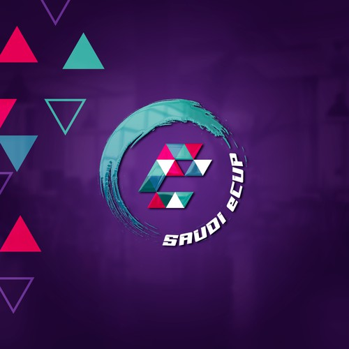 A sharp and edgy logo design that will attract gamers to watch the best go head to head in esports