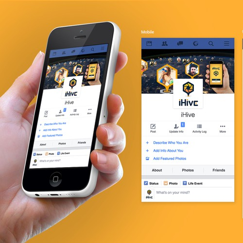 iHive Facebook cover page