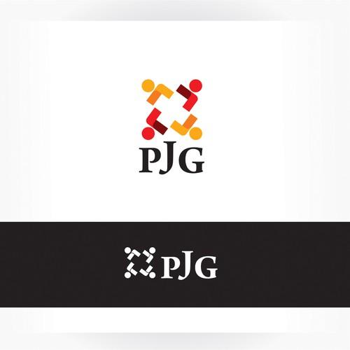 Parlement des Jeunes Genevois logo concept.