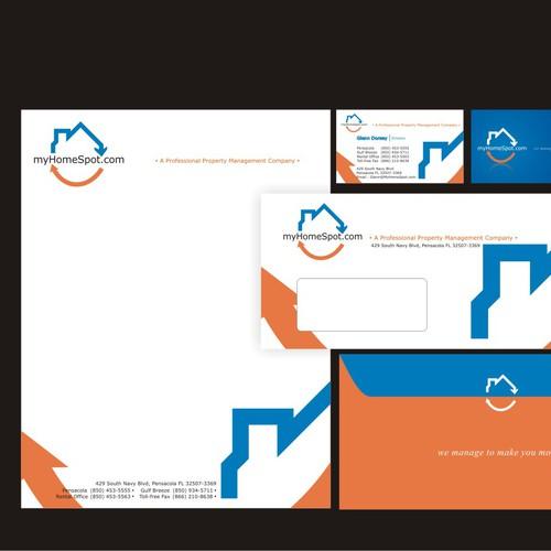 stationary design for myHomeSpot.com