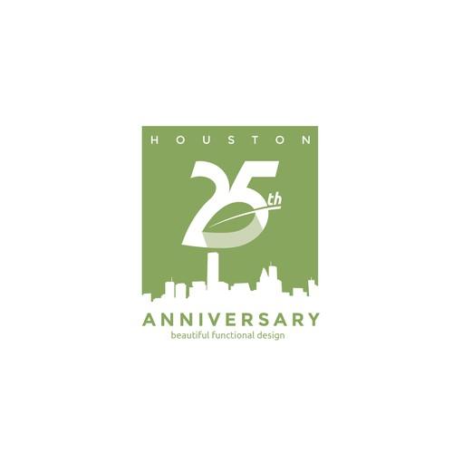 25 th anniversary logo