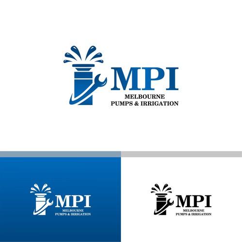 Logo Work For Melbourne Pumps & Irrigation