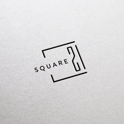 A logo concept for a property building company