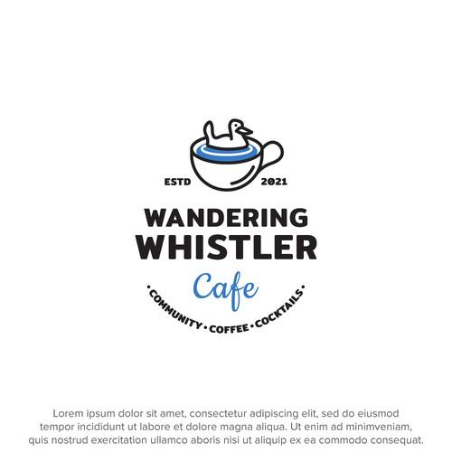 Logo concept for a coffee shop