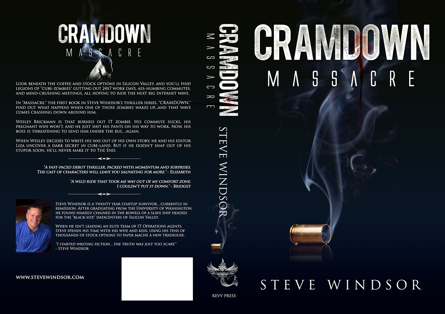 "You can still win the ""CRAMDOWN: Massacre"" book cover contest by REVV Press"