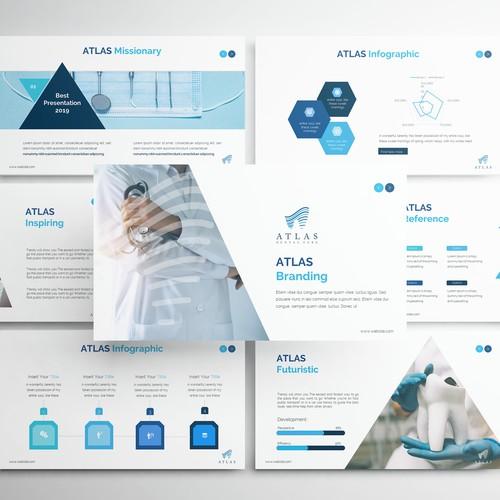 Powerpoint Presentation Template for ATLAS Dental Care
