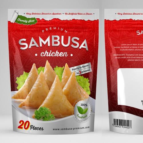 packaging SAMBUSA