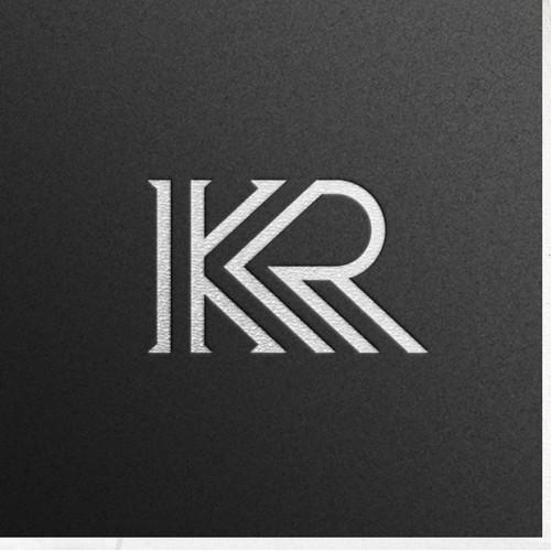 KR monogram logo