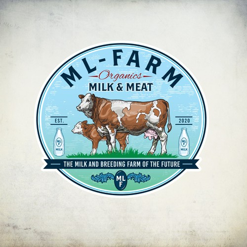 Logo for the farm