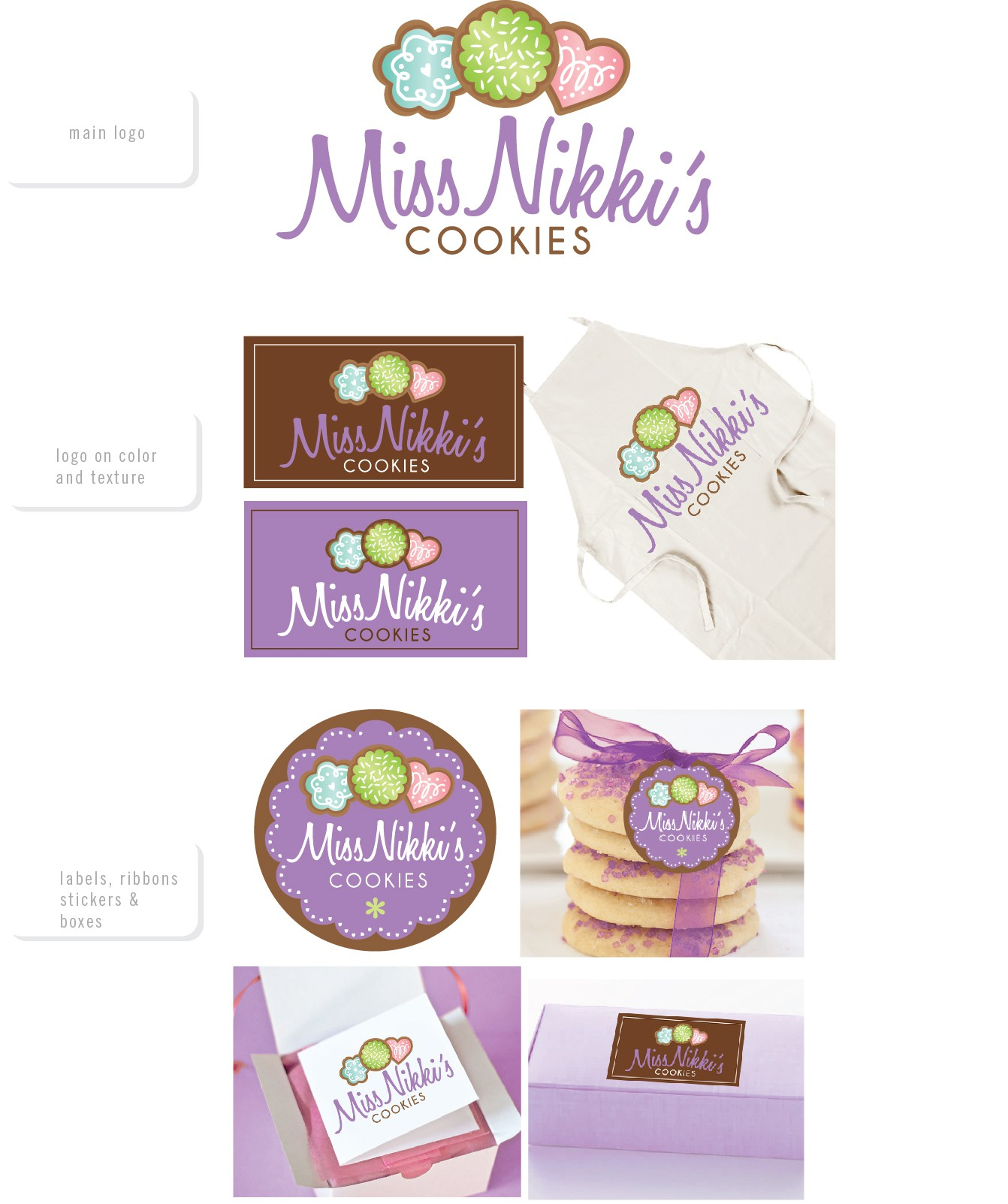 New logo wanted for Miss Nikki's Cookies