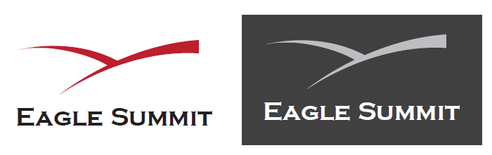 logo and business card for Eagle Summit