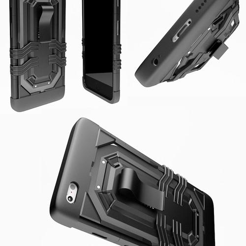 Cell Phone Armor Type Case Design