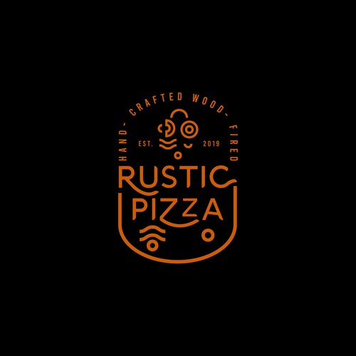 Youthful Logo for Rustic Pizza