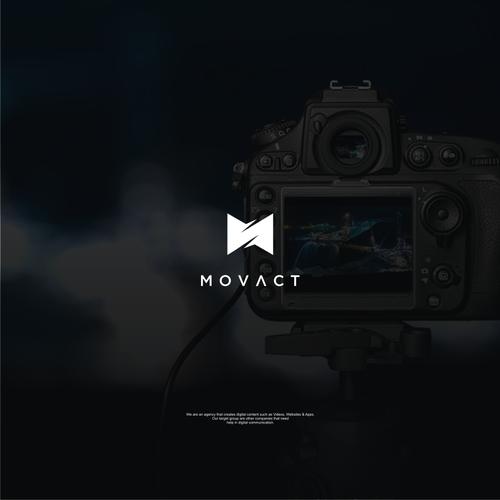 Logo Concept For Movact.