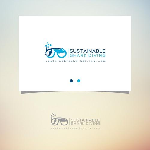 Logo for Global Shark Conservation Project