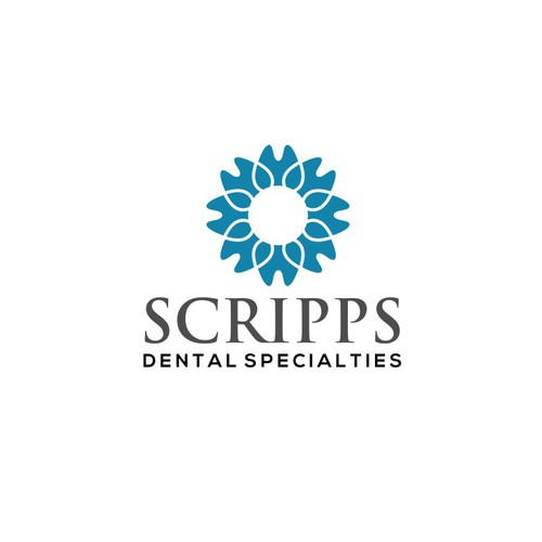 Clean, Modern, Professional Dental Practice Logo