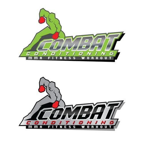 Logo for an MMA fitness program