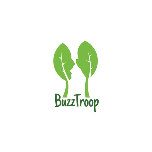 Creative logo concept for customers service provider