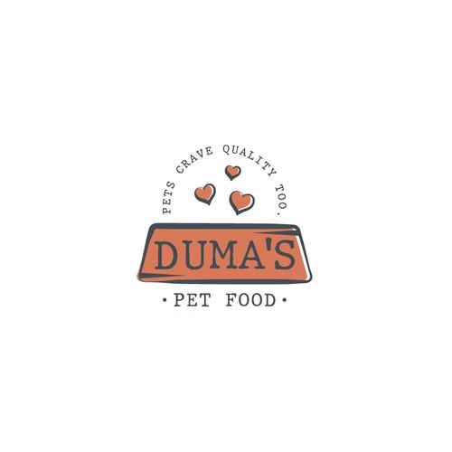 Logo Duma's Pet Food