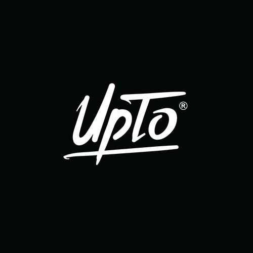 UpTo logo design