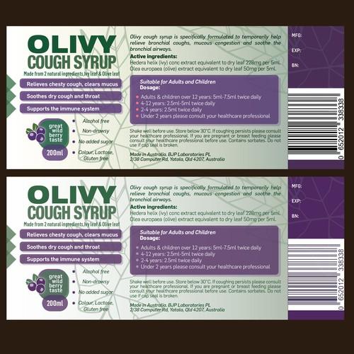 Olivy label