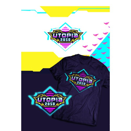 Utopia 2050 Logo Brand