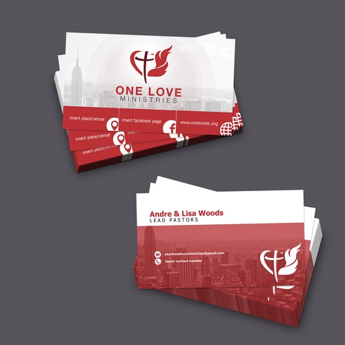 Business Card Concept One Love Ministries