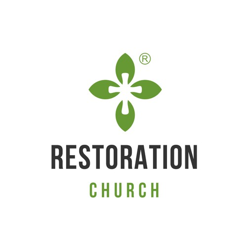 Logo for a Mennonite church