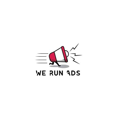 Fun logo comcept for an ads platform company