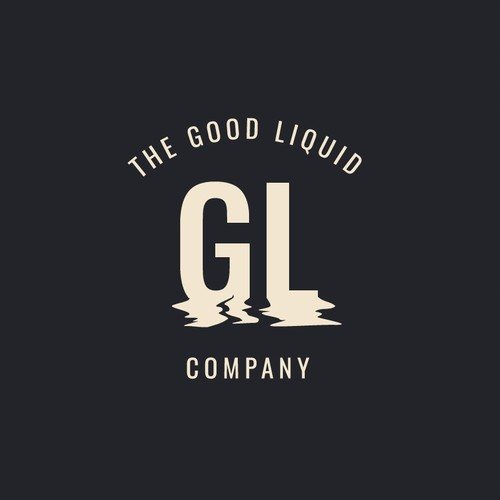 Typography logo for a brewery
