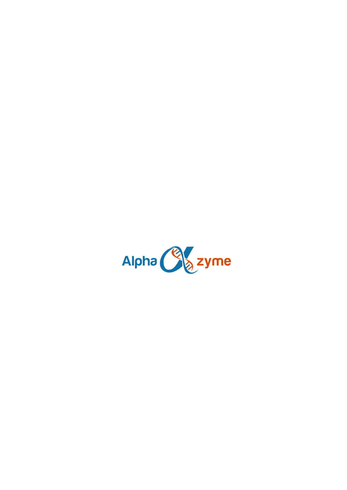 Alphazyme brand style guide