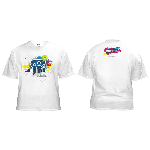 Fun, Snazzy, Cool T-Shirt for Video Chat corp.