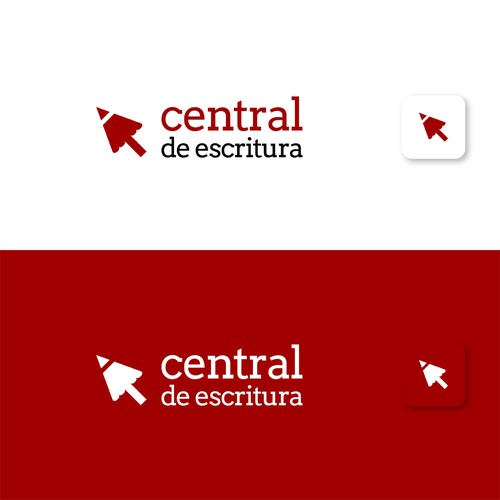 Central de Escritura logo exploration