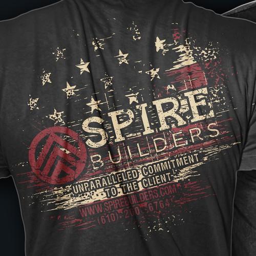 SPIRE builders shirt