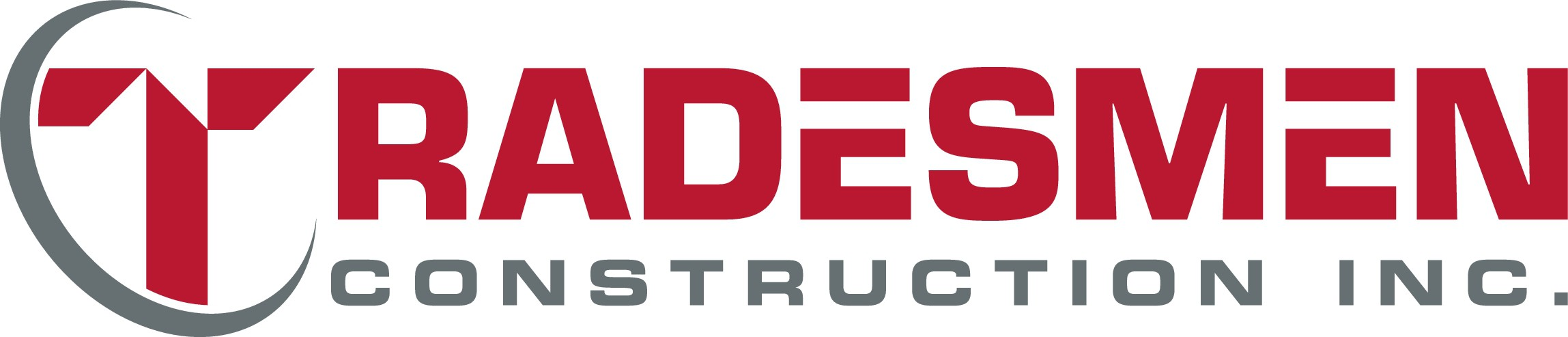Create a powerful and corporate design for Tradesmen Construction Inc.