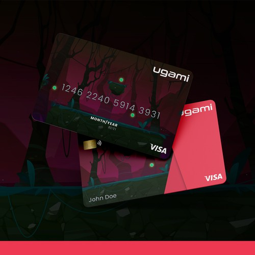 Credit Card concept made for ugami.1