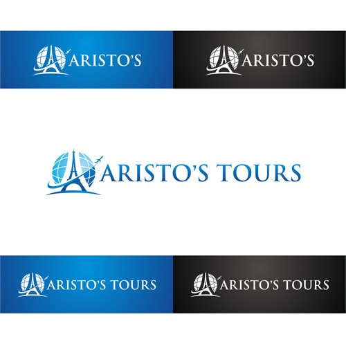 CREATIVE LOGO FOR UPSCALE  INCOMING TRAVEL AGENCY & LIMOUSINE SERVICE