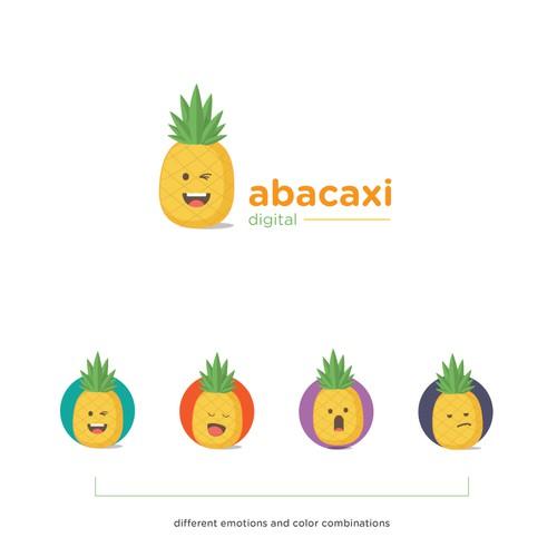 Pineapple mascot