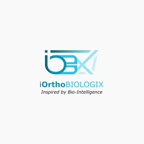 iOrthoBiologix Logo Design