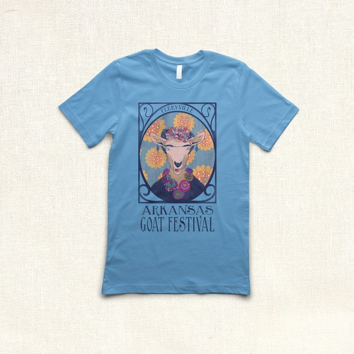 Goat Festival Tee Design