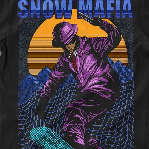 snow mafia tshirt